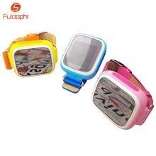 Q80 Niños GPS Dispositivo de Localización de Llamadas SOS Rastreador Smartwatch Seguro Anti perdido el Reloj Niño Reloj Teléfono Inteligente Bebé Regalo PK Q50 Q60 Q90