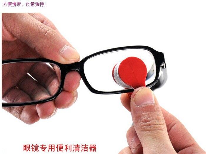Envío Libre expreso 100 unids/lote Limpiador de Vidrios de Microfibra Gafas de S