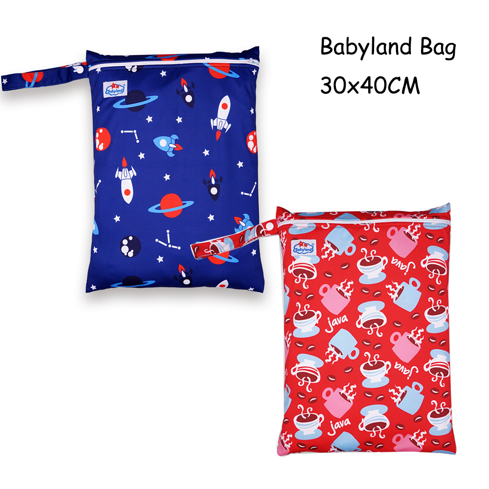 [New Store Promotion ] 20pcs A Lot Babyland Multi-Function Waterproof Bags Newest Designs Models One Zipper Style Free Shipping