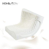 Natural Latex Pillows Contoured Memory Foam Orthopedic Cervical Neck Bed Pillows Release Stress Pillow Almofada 50