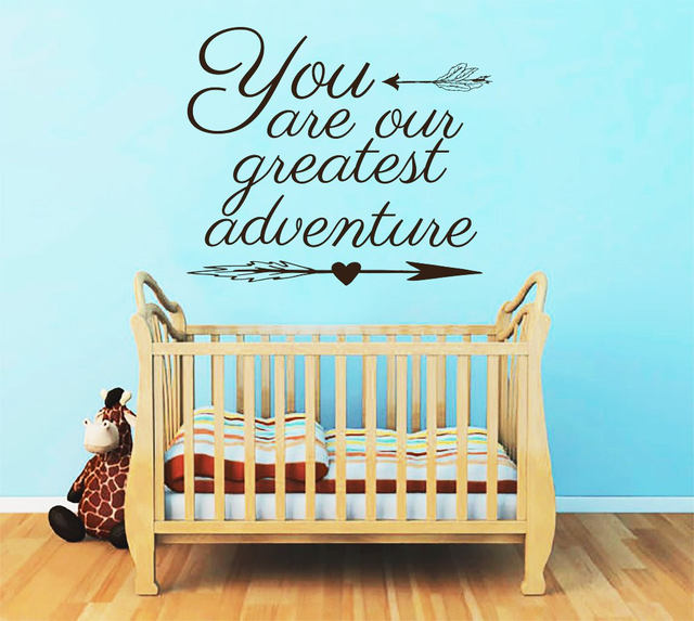 Online Shop Boho Arrow Decal Quotes You Are My Greatest Adventure
