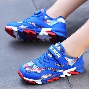 Image 3 - ตาข่ายระบายอากาศเด็กรองเท้าผ้าใบเด็กรองเท้าเด็กรองเท้าเด็กรองเท้ากีฬาโรงเรียนรองเท้าวิ่ง 28 30 31 32 33 34 35 36 37 39