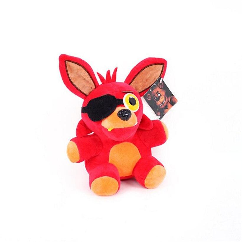 Kawaii 15CM Five Nights At Freddy's Fnaf World Freddy Fazbear Bear Foxy Bonnie Plush Stuffed Anime Action Figure Kids Toys Gifts
