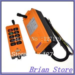 Image 2 - 10 チャンネル 1 スピード産業用ワイヤレストラックホイストクレーンウインチラジオリモートコントロールシステムコントローラ