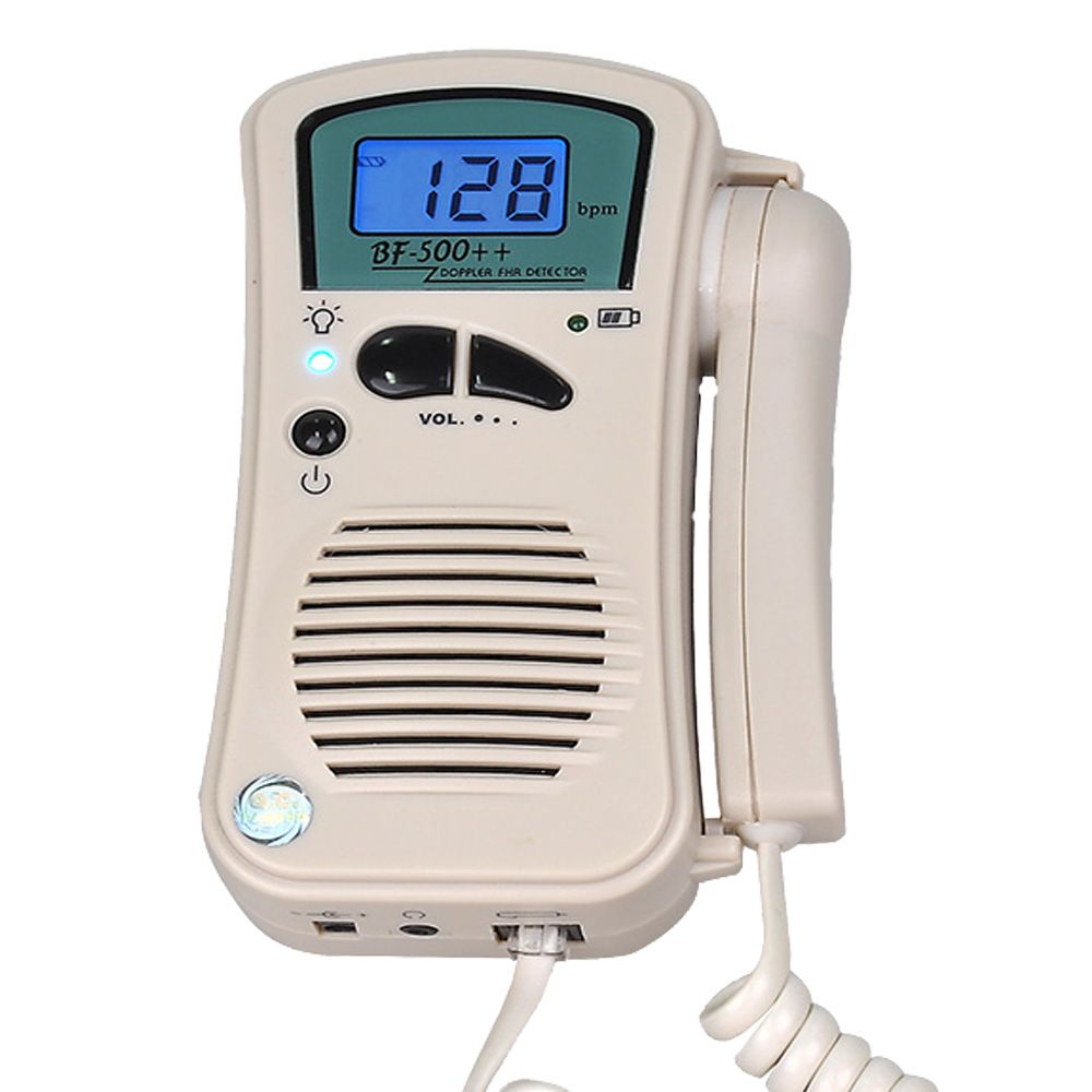 FDA Prenatal Fetal Doppler Non-screen Built-in Speaker Home Use Baby Pocket Heart Rate Monitor 2.5Mhz Probe Pregnancy Fetus футболка prenatal футболка