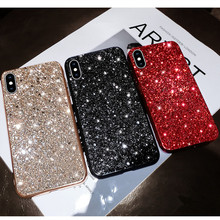 Bling Glitter Sequin plating Case For Huawei