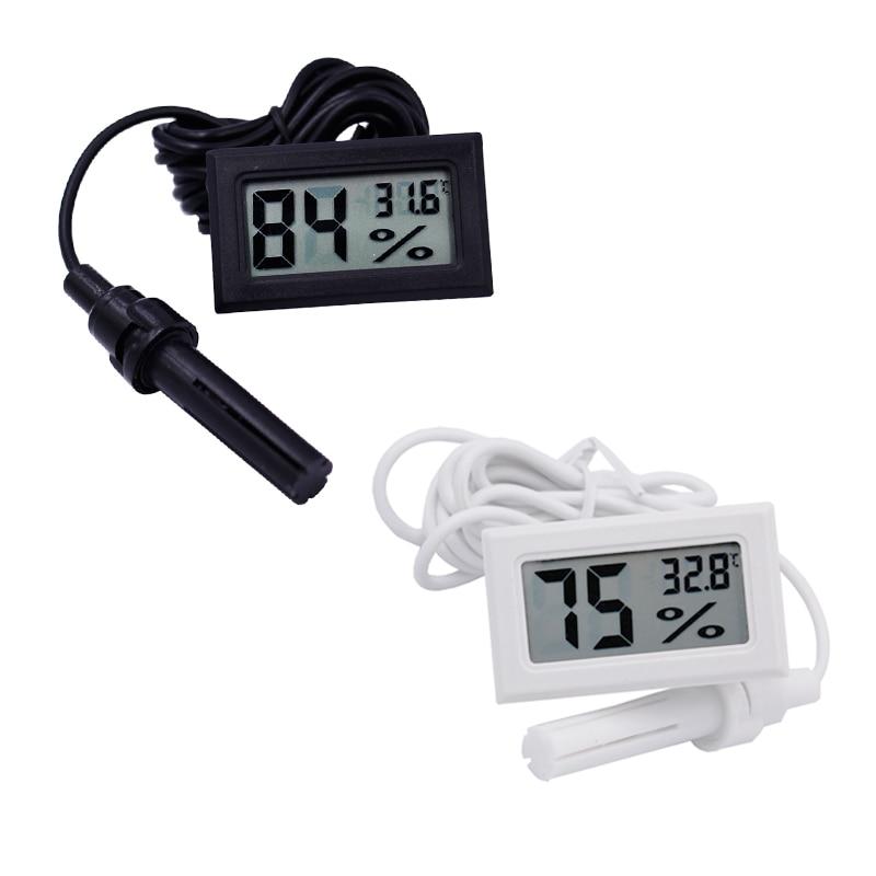 New LCD Digital Thermometer Hygrometer Temperature Humidity Meter -50~70C 10%~99%RH 20% off mini 2 0 lcd car indoor thermometer hygrometer black 10 c 50 c 20% 95% rh 1 x lr44