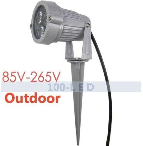 85-265V Land scape Lighting Pond Light Garden SpotLight outdoor Waterproof light LAMP(China)
