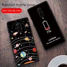 Silicone TPU Case For Oneplus 7 Pro 7Pro Case Painted Matte Back Cover For Oneplus 7 Pro 7Pro oneplus7 Shell Protective Cases