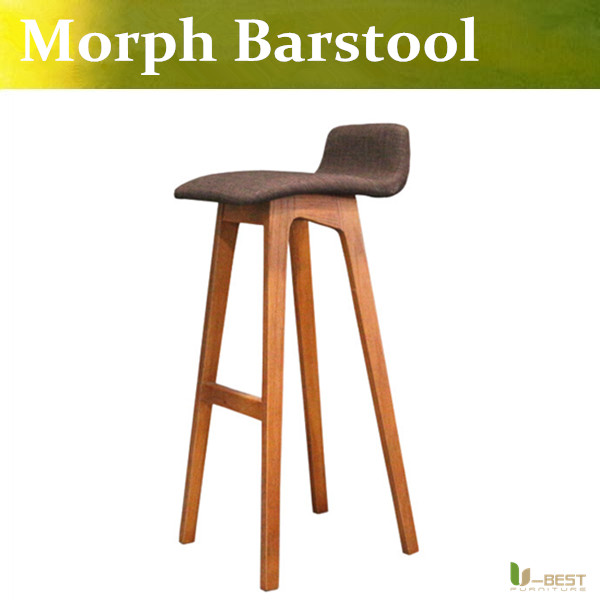 Free shipping U-BEST Formstelle Morph Barstool,Walnut - Bar Height ,Legs and frame in solid walnut with natural oil finish фонарик beyblade бейблейд morph lite цвет синий