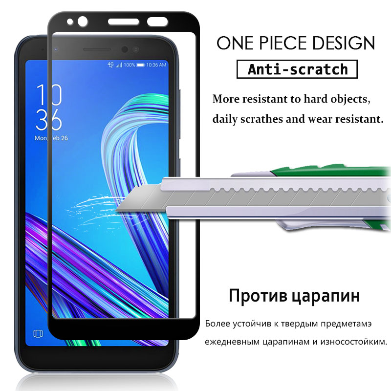 Tempered Glass For Asus Zenfone Max Pro M1 Zb555kl X00pd Zb601kl