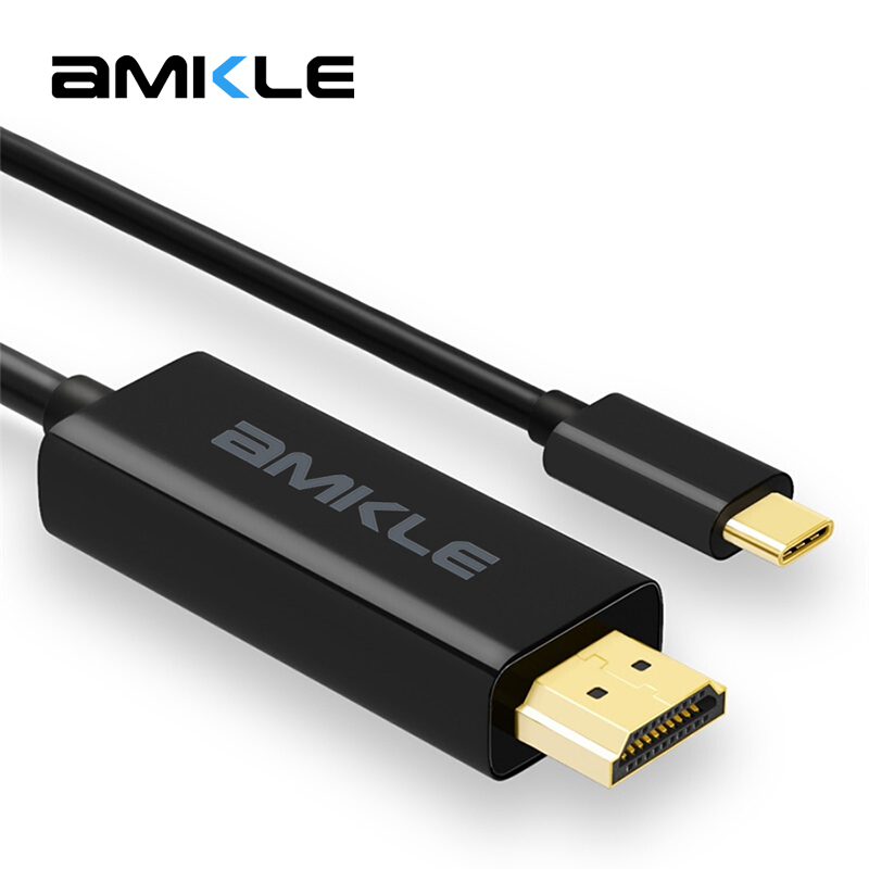 amkle usb type c to hdmi cable usb 3 1 type c male to hdmi. Black Bedroom Furniture Sets. Home Design Ideas