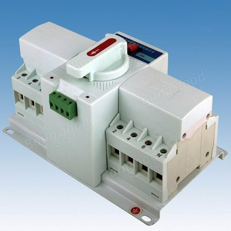 1Pcs  4P 63A 380V MCB Type Dual Power Automatic Transfer Switch ATS AU ATSE 4p 40a 380v mcb type dual power automatic transfer switch ats
