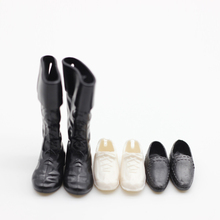 3pairs lot shoes for 1 6 doll Shoes for barbie doll boy friend male ken doll
