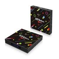 2019 H96 MAX H2 TV Box For Android 7.1 1080P 4G RAM + 64G ROM WiFi Smart 4K Internet Remote Wireless Home Appliance EU/AU/US/UK