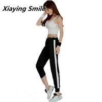 Xiaying Smile Women Sexy Breathable Wholesale Sport Running Yoga Summer Set Quick Dry Gym Fitness Yoga Workout Sportswear Suit