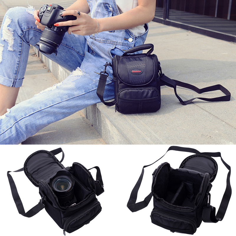 DSLR Camera Bag Photo Case For Nikon D3400 D5500 D5300 D5200 D5100 D5600 D3200 D3100 D3300 L840 L830 L340 P900S P900 P610S P530
