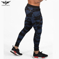 KORKSLORES Mens Gyms Fitness Sweatpants Pant Male Casual Fashion Bodybuilding Trouser Drawers Brand Male Trousers Joggers