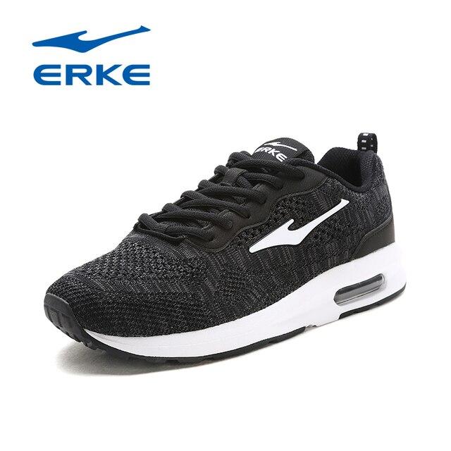 Ерке воздух Обувь Для мужчин Air кроссовки спортивные туфли для Для мужчин туфли для бега трусцой 2017 амортизацией Подушка спортивная обувь