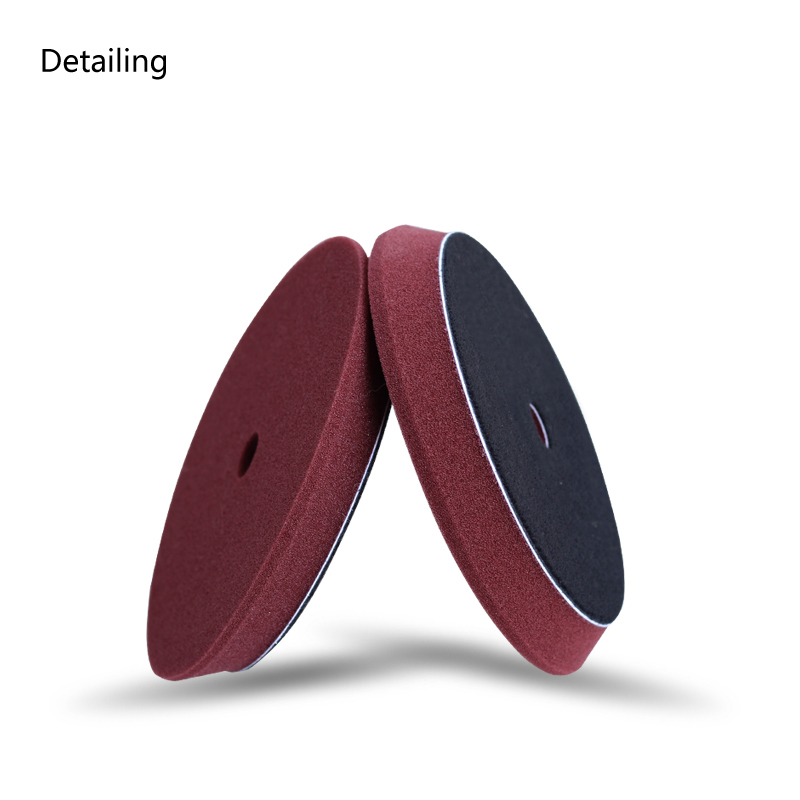 US $7 72 |DETAILING 6inch Car Polishing Foam Buffing Pad for Rupes  Polisher, Dual Action Polisher Maroon for Light Cut-in Waxing Sponge from