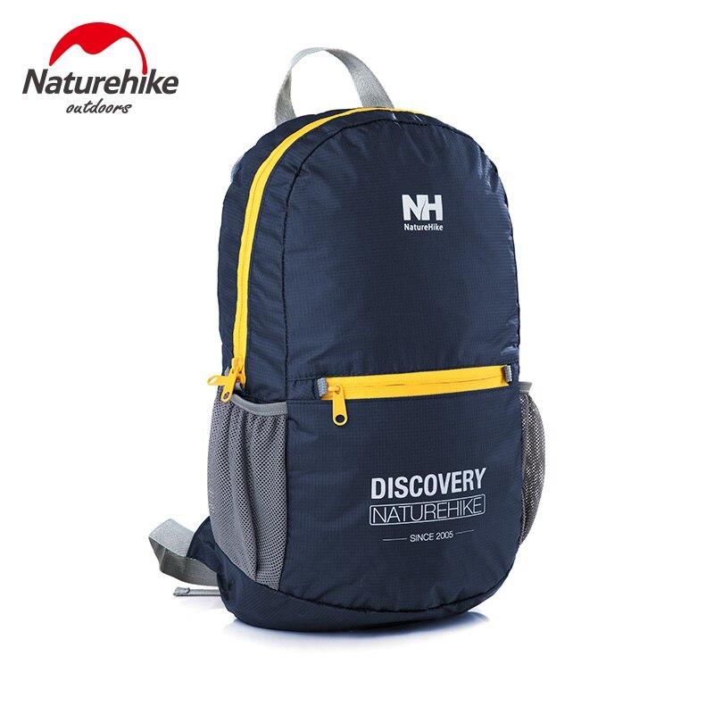 Prix pour Naturehike ultra-léger en plein air voyage sac à dos 15l pliable portable étanche en plein air sacs unisexe sport escalade sac à dos