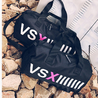Large Capacity Gym Bag Women Yoga Handbag Nylon Travel Duffel Bags Black Outdoor Sport Bag Multipurpose