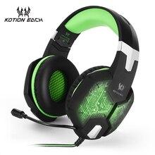 KOTION EACH Gaming Headset Gaming Headphone font b Earphone b font 3 5mm Stereo Game Headphone