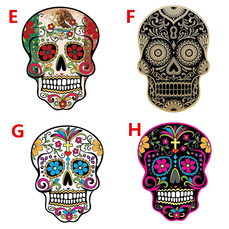 Aliauto Colorful Graffiti JDM <font><b>Styling</b></font> Car Sticker Terror Skull Decal Decoration for <font><b>Volvo</b></font> Xc90 S60 S80 S40 <font><b>V50</b></font> Xc70 V40 Peugeot image