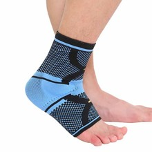 1pc Sport Safety Ankle Silicone elastic Support Strong Ankle Bandage Elastic Brace Guard Support Sport Gym Foot Wrap Protect