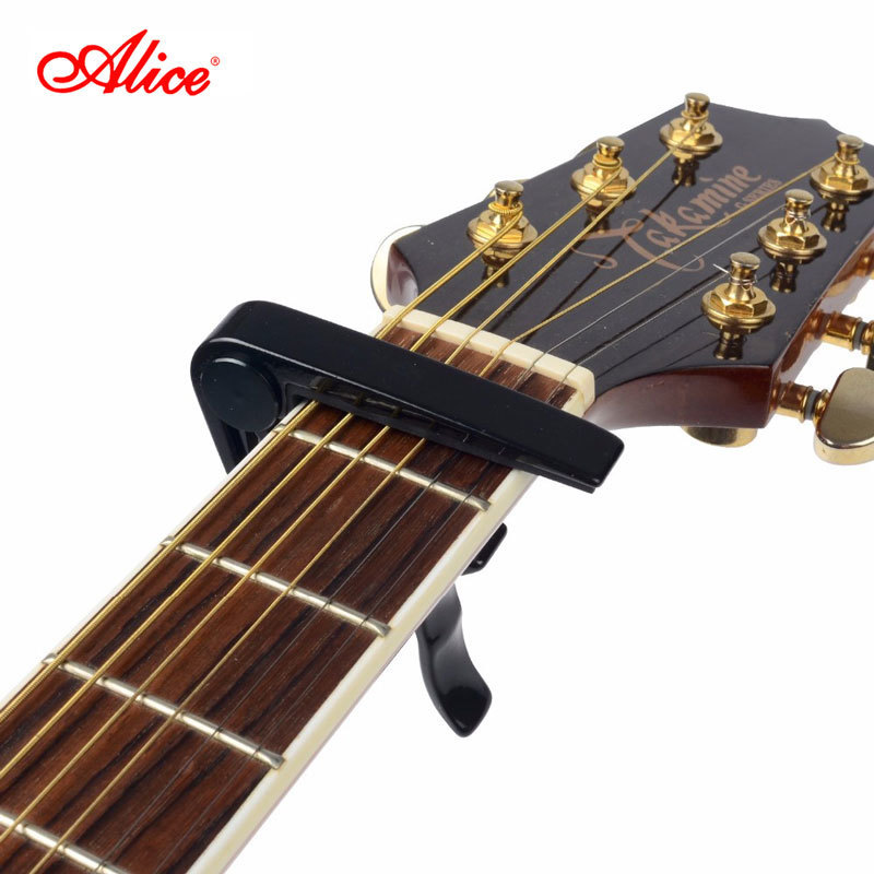 Alice Brand Capo For Acoustic Classical Electric Guitar Classic Type High Quality Aluminum Alloy Guitarra Capos A007D alloy classical guitar capo black silver