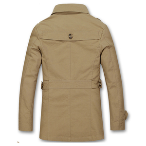 Image 5 - 2020 nova jaqueta masculina design de moda veste homme fino ajuste primavera outono inverno terno casaco sólido algodão cáqui marca roupas M 5XL