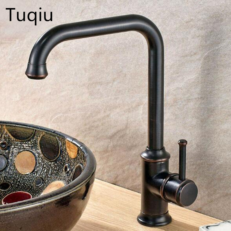 Black Kitchen Faucets Discount: Free Shipping Kitchen Faucet Black 360 Degree Swivel