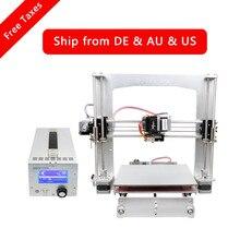 Geeetech Prusa i3 Pro 3D Принтер Все Алюминиевая Рама Высокая Точность LCD12864 Impressora Reprap с Power Control Box