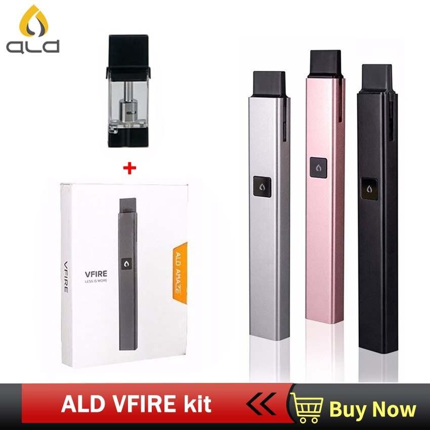 Original ALD AMAZE Vfire e cigarette vaporizer pen with 1ml ceramic