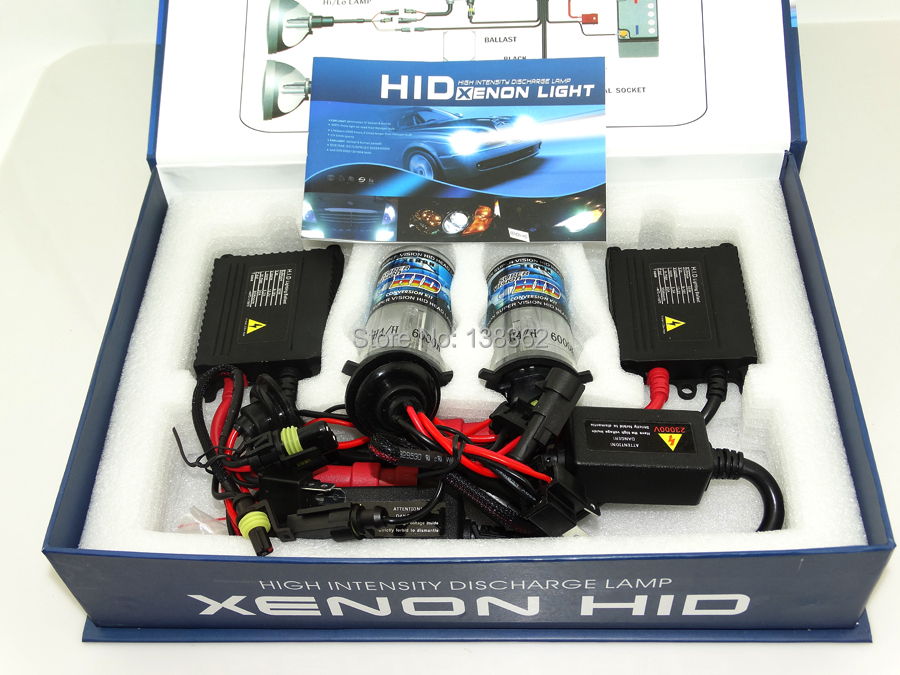 ФОТО Factory Promotion  1set hid h4 hi lo kit xenon H4-2  4300K 5000k 6000k 8000k h4 halogen xenon kit hid H4-2