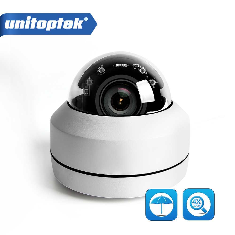 2MP 5MP Full HD PTZ IP Caméra Extérieure Mini Speed Dome Cam IP Onvif 4X Zoom P2P 40 m IR vision nocturne ip66 Étanche POE En Option