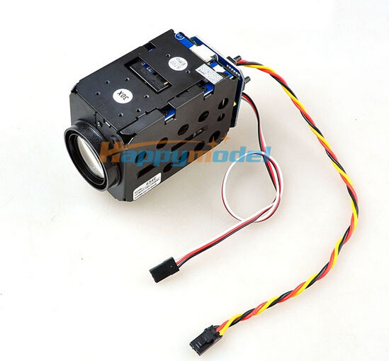 FPV 1/4 Sony 700TVL HD 30X Zoom Adjustable FPV Camera for Multicopter 1.2G/5.8G Telemetry Free Shipping aomway 700tvl hd 1 3 cmos fpv camera pal