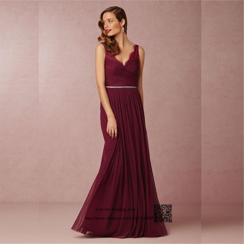 Maroon Bridesmaid Dress Reviews - Online Shopping Maroon ...
