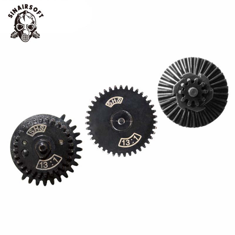 SHS 13: 1 Ultra-High-Speed-Zahnradsatz für Ver. AEG Airsoft Gearbox Jagdzubehör