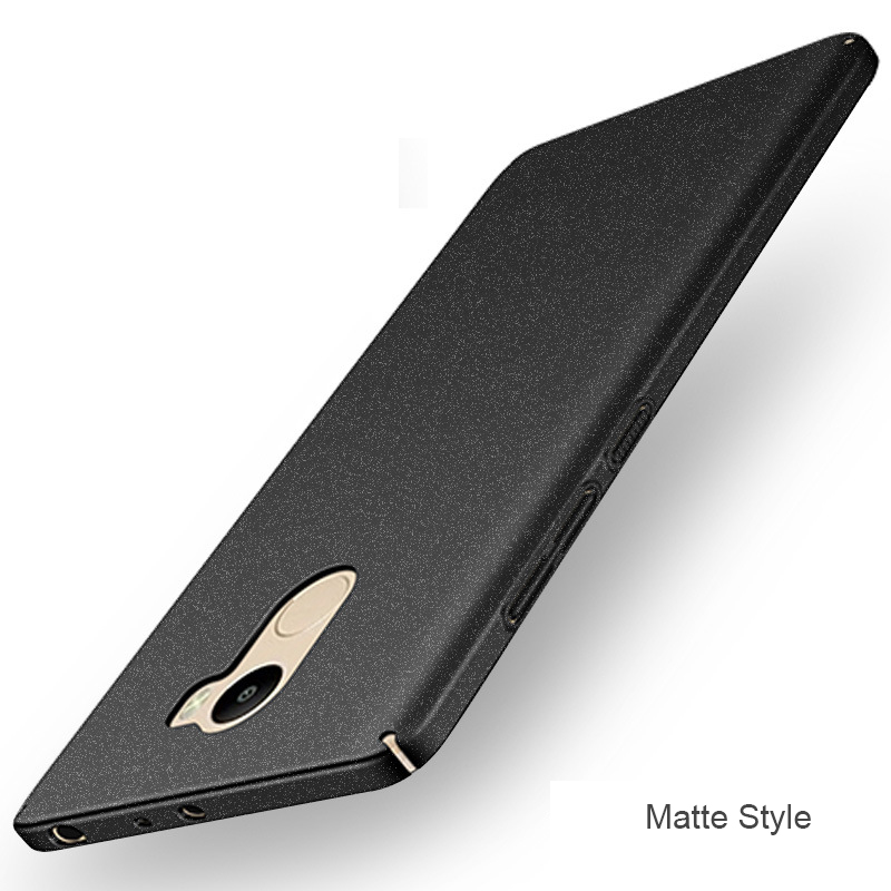 Original Boomboos Luxury simple and matte case For Xiaomi redmi 4 For redmi 4 Pro For redmi 4A 4X Best matte touch feeling