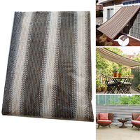 Shade Net Sail Outdoor Garden Cloth Balcony Greenhouse Plant Large Anti UV Protection Car Cover Home Decor Thicken Insulation