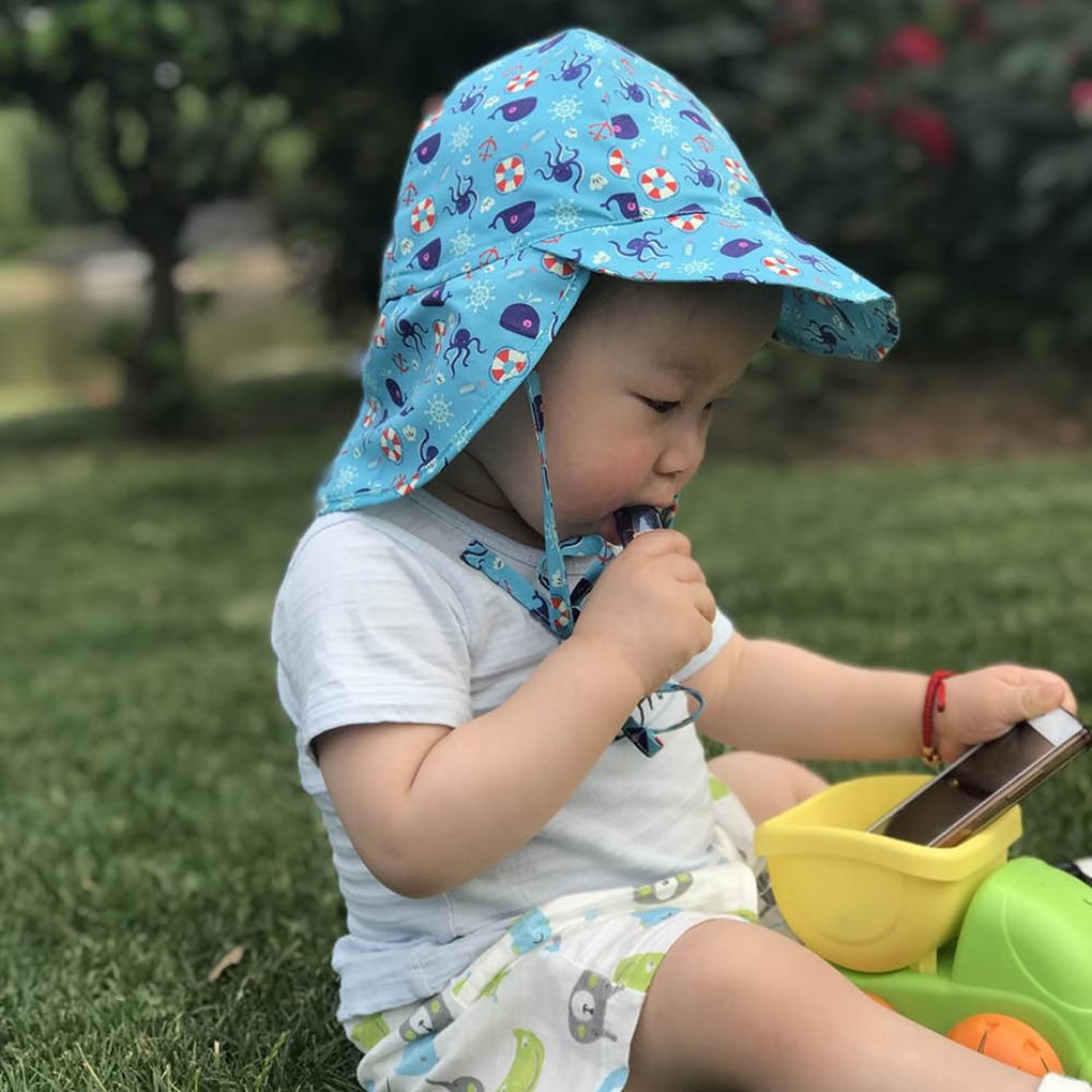 bed614eadaa7 Detail Feedback Questions about Baby Boy Bucket Hat Panama Girls Sun ...