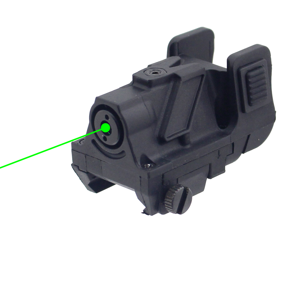 Green Dot Pistol Laser Sight 532nm 5mw Subcompact Tactical Green Laser Gun Sight Scope for Picatinny Rail Rifle tactical 5mw 650nm red laser dot rifle scope sight for 20mm gun gauge black