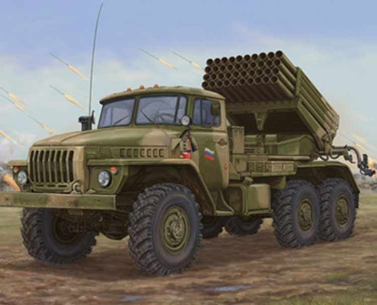 The assembly model of 1:35 BM-21 of Russia military trucks 01014 hail rocket launcher japan original convum vacuum generator cv 20hs new original