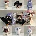 The Secret Life of Pets Mini size 15cm dog Plush Toys dolls Mike&rabbit&Cat&Pomeranian Quality toys Decoration