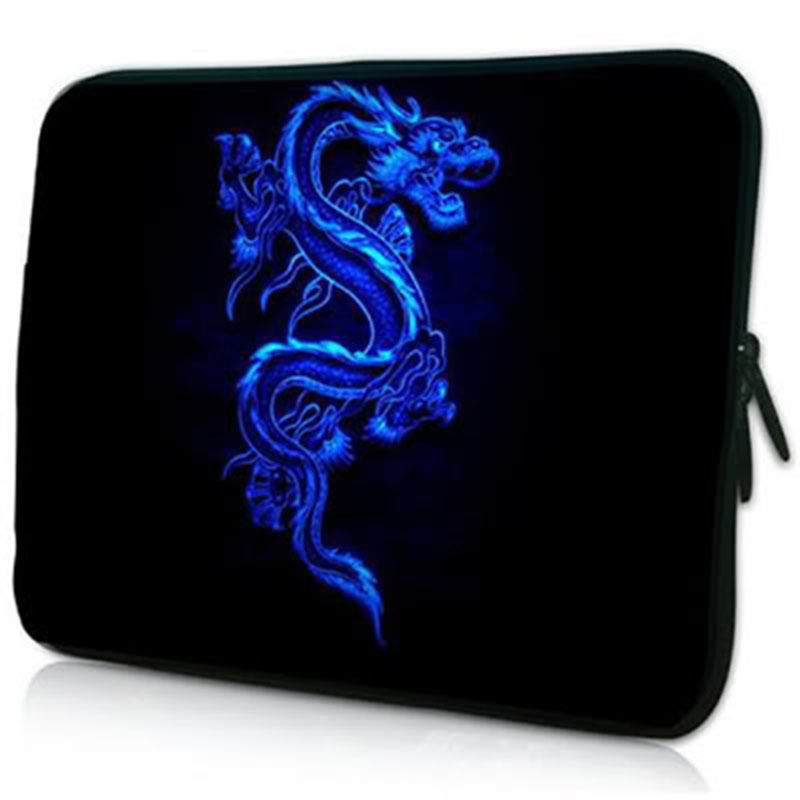 Blue Dragon Sleeve Case For Laptop 7,8,10,11,12,13,14,15,15.6,17,17.3 inch Bag For MacBook Notebook,Free Shipping