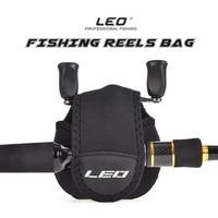 Leo 낚시 릴 보호 릴 가방 케이스 커버 드럼/스피닝/뗏목 릴 낚시 스토리지 가방 파우치 방수|낚시 가방|   -
