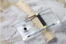 Eyelash Glue Holder  Individual Eyelash Extension Adhesive Glue Pallet Makeup Tool For Transparent Arrival Rectangular Crystal