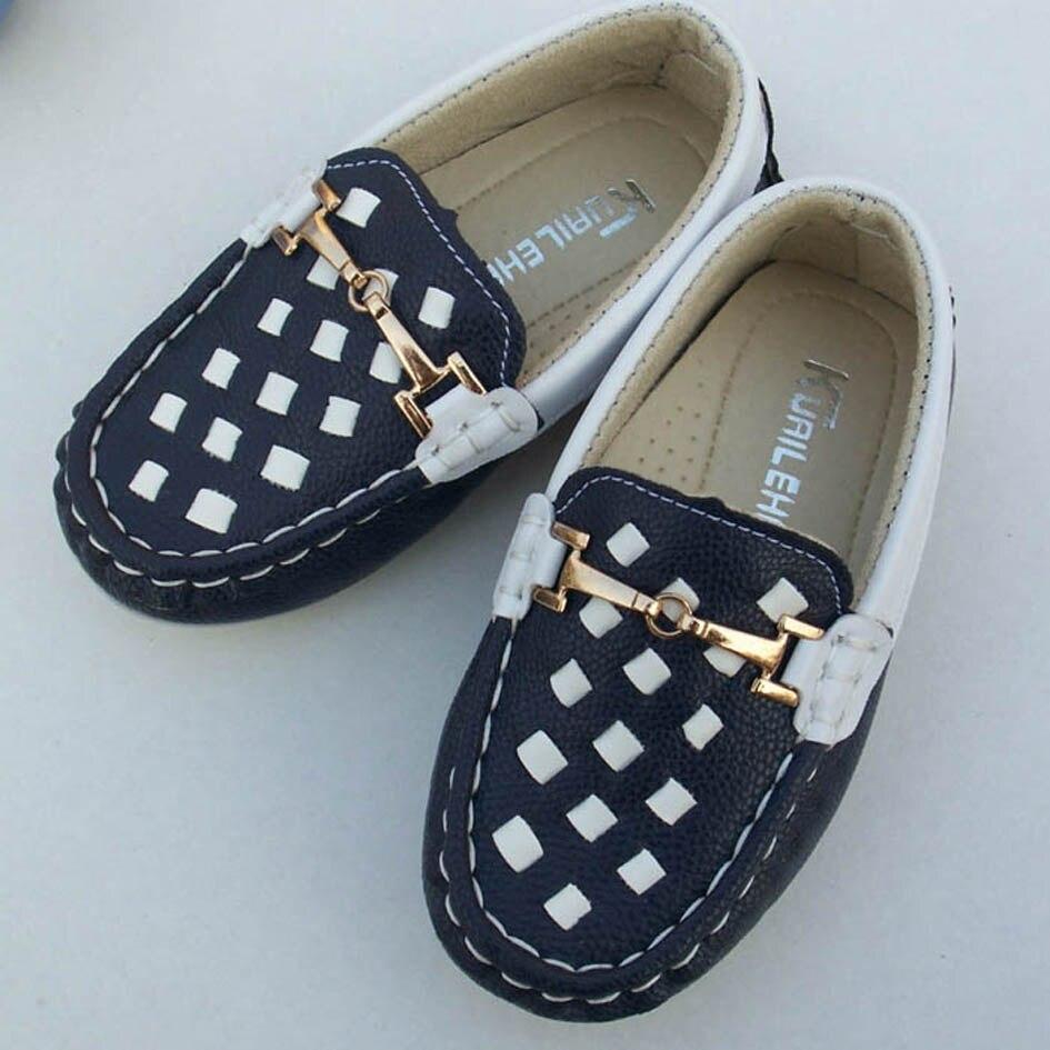 Luxury Slip on Children Loafers Uni Boys Toddler Shoes