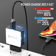 Quick charge 3.0 5V 3A For Xiaomi mi 9t CC9 Charger EU Plug 18W 1USB Port Mobile Phone Fast charger for xiaomi redmi 7 note 7 цены